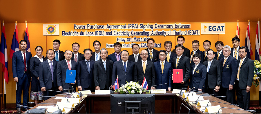 กฟผ. - ฟฟล. ลงนามซื้อขายไฟฟ้า 'น้ำงึม 1 – เซเสด' เสริมความมั่นคงพลังงานไฟฟ้าของประเทศ