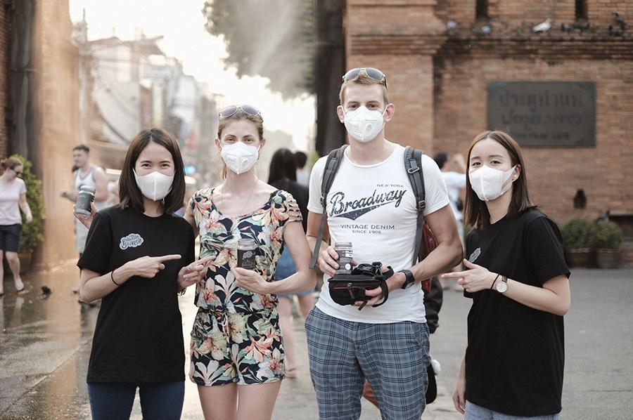 กลุ่มผู้ประกอบการชาวเชียงใหม่ผุดไอเดีย Pollution Souvenir อากาศเสียที่ระลึก