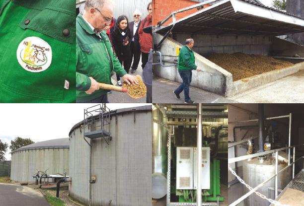 โรงไฟฟ้าจากก๊าซชีวภาพ (Biogas) จากฟาร์มหมูและวัว ข้าวไรย์และข้าวโพด ขนาด 526 กิโลวัตต์ ผลิตพลังงานไฟฟ้า 4.15 ล้านกิโลวัตต์-ชั่วโมงต่อปี และพลังงานความร้อนเทียบเท่า 2.275 ล้านกิโลวัตต์-ชั่วโมงต่อปี