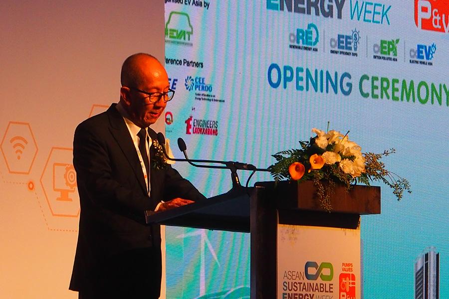 ดร. ศิริ จิระพงษ์พันธ์ รัฐมนตรีว่าการกระทรวงพลังงาน เป็นประธานเปิดงาน ASEAN Sustainable Energy Week (ASE) 2019