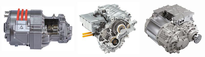 ชุด E-Axle แบบต่างๆ จากผู้ผลิตชิ้นส่วนรถยนต์ชั้นนำ
