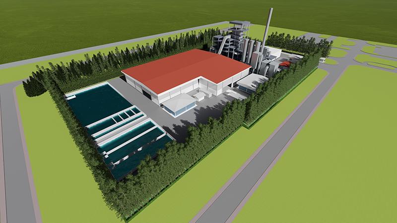 โรงกำจัดกากอุตสาหกรรมและหน่วยผลิตไฟฟ้า SCG