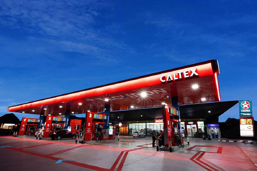 """สถานีบริการน้ำมันแฟลกชิพรูปแบบใหม่ """"Caltex Smart Station"""""""