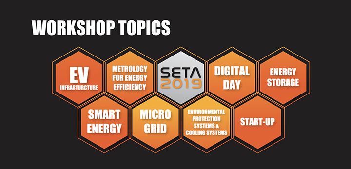 SETA 2019 Workshop Topics
