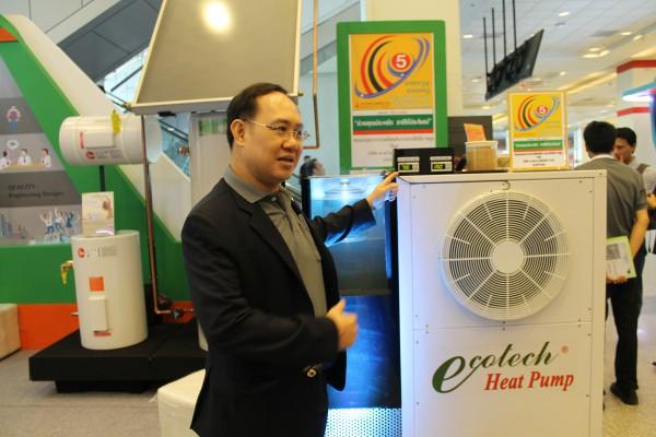 Heat Pump ภายใต้แบรนด์ Ecotech