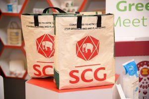 กระเป๋าถุงปูนเอสซีจี ตามเเนวคิด Circular Economy เอสซีจี