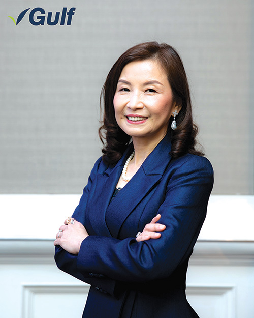 พรทิพา ชินเวชกิจวานิชย์ กรรมการผู้จัดการใหญ่ บริษัท กัลฟ์ เอ็นเนอร์จี ดีเวลลอปเมนท์ จำกัด (มหาชน)