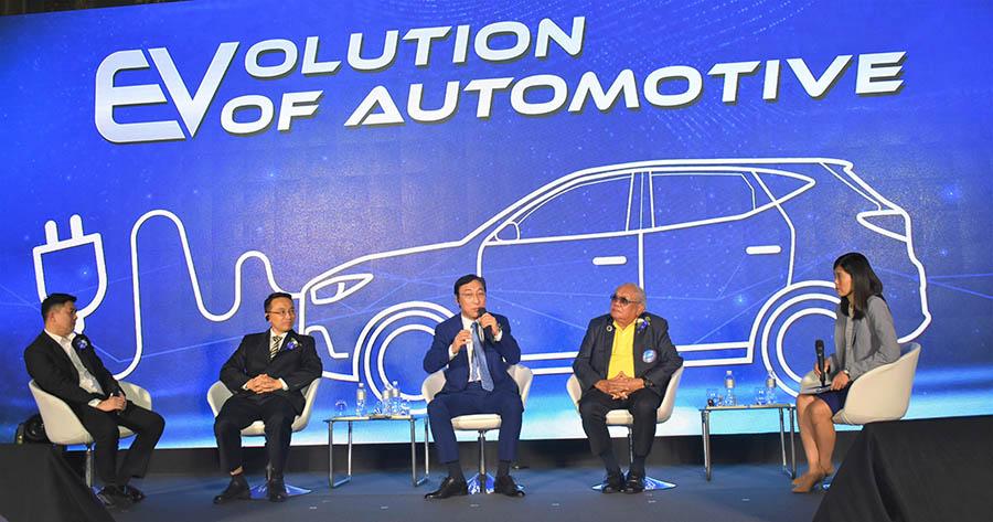 MG ชูนวัตกรรมรถยนต์พลังงานไฟฟ้า EV พร้อมติดตั้งสถานีชาร์จแบตเตอรี่ทั่วประเทศ