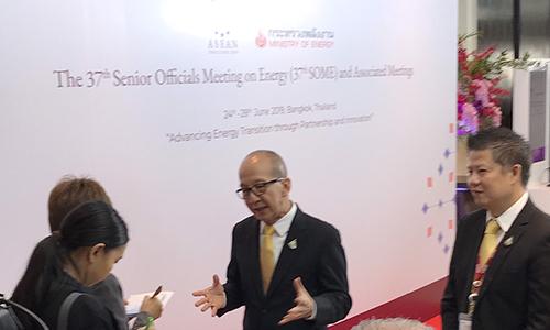 ดร.ศิริ จิระพงษ์พันธ์ รัฐมนตรีว่าการกระทรวงพลังงาน