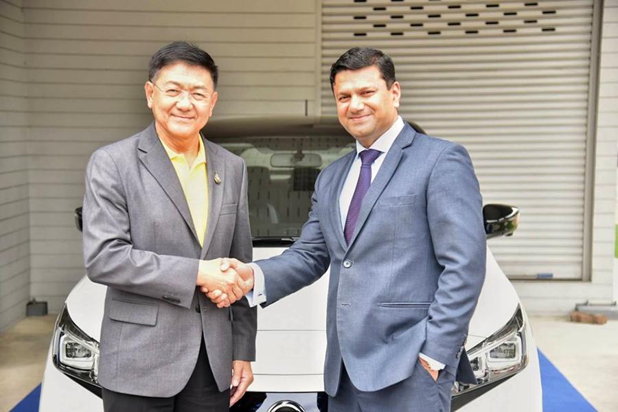 PEA จับมือ นิสสัน ประเทศไทย เดินหน้าประกาศความพร้อมรองรับการชาร์จพลังงานไฟฟ้าสำหรับยานยนต์ไฟฟ้าภาคครัวเรือนทั่วประเทศ