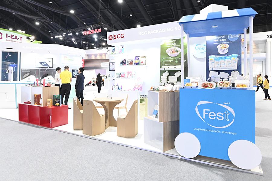 บรรจุภัณฑ์กระดาษ FEST ตามเเนวคิด Circular Economy ภายในงาน Thailand Industry Expo 2019