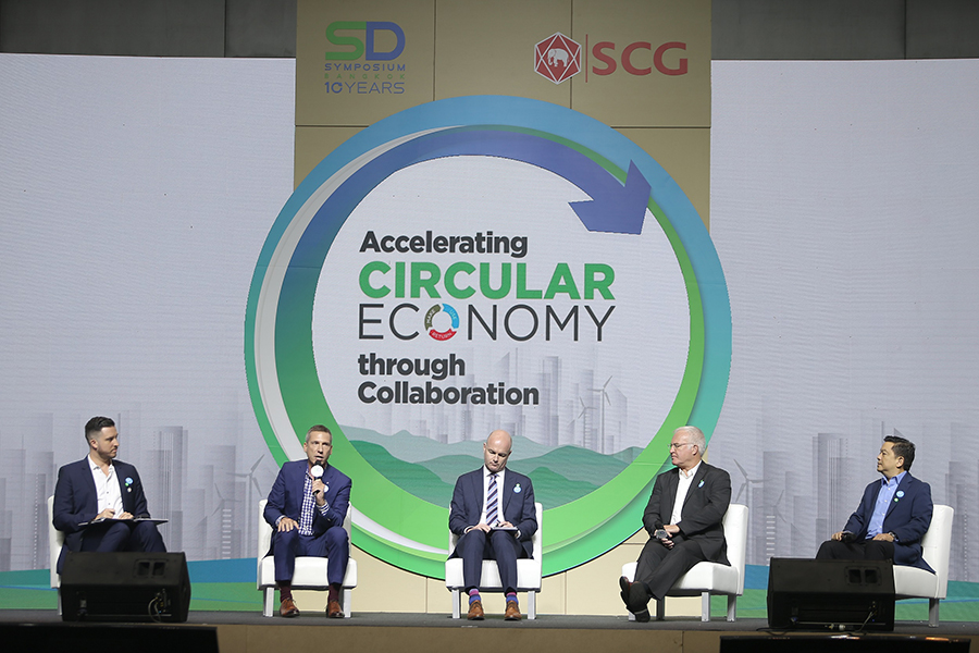 เสวนาในหัวข้อ Accelerating Circular Economy through Collaboration