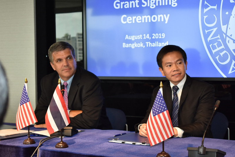 USTDA & Blue Solar Grant Signing Ceremony for SPP Hybrid Firm