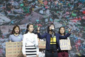 การแสดงพลังรักษ์สิ่งแวดล้อม จากเยาวชนอาเซียน
