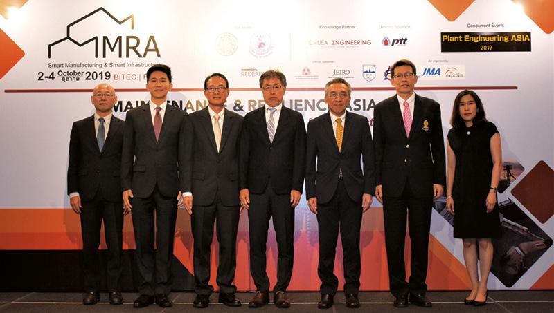 งาน Maintenance and Resilience Asia 2019 ยกระดับภาคการผลิตโรงงานในไทย และคมนาคมให้เทียบเท่าญี่ปุ่น