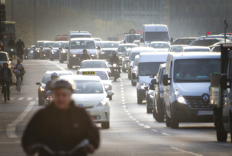 ฝุ่น PM 2.5 มลพิษทางอากาศจากไอเสียรถยนต์