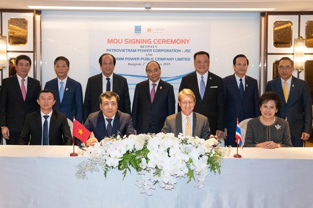 BGRIM จับมือ Petrovietnam Power สร้างโรงไฟฟ้าเชื้อเพลิง LNG กำลังผลิต 3,000 เมกะวัตต์ในเวียดนาม
