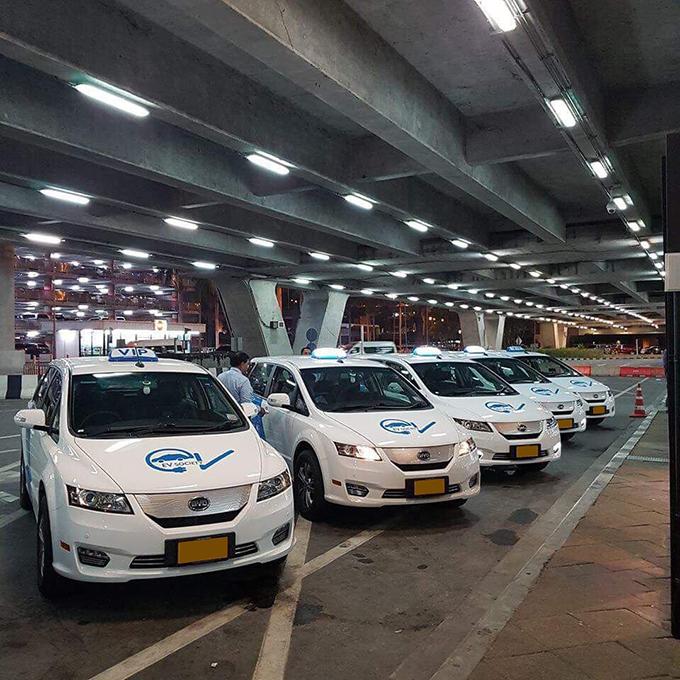 ให้บริการยานยนต์ไฟฟ้าประเภทแบตเตอรี่ (BEV: Battery Electric Vehicle)
