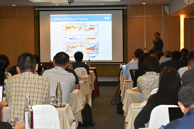 การประชุมวิชาการเรื่อง การตั้งรับปัญหาการเปลี่ยนแปลงสภาพภูมิอากาศโลก