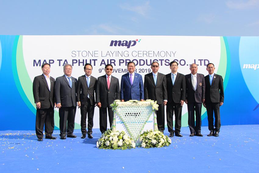 วางศิลาฤกษ์หน่วยแยกอากาศจาก LNG แห่งแรกของประเทศไทย