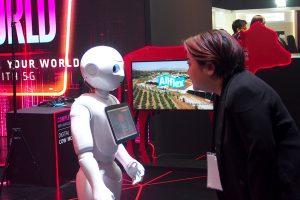 หุ่นยนต์ AI True 5G
