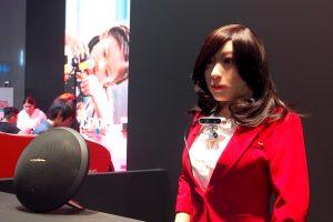 หุ่นยนต์ AI พนักงานต้อนรับ