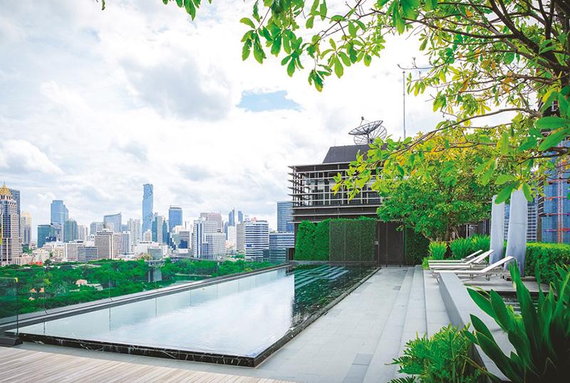 โครงการสินธร วิลเลจ ได้รับการพัฒนาภายใต้แนวคิด Green Building