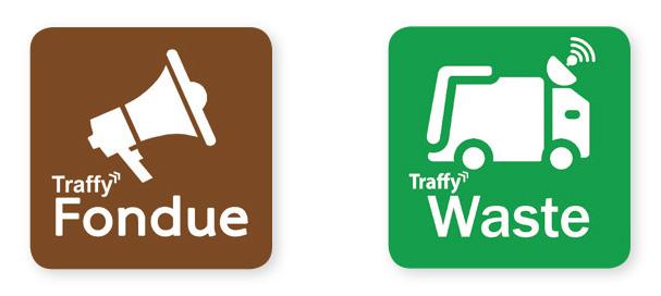 แอพพลิเคชั่น Traffy Fondue และระบบ Traffy Waste