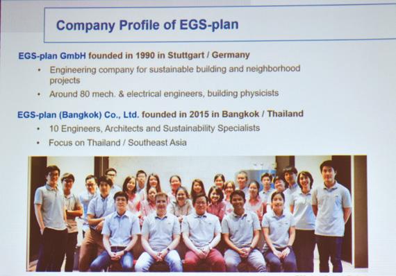ทีมงานบริษัท EGS-plan (Bangkok) Co., Ltd. สาขาประเทศไทย