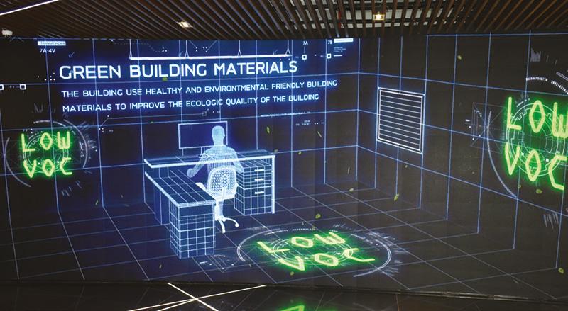 Green Building Materials อาคารธนพิพัฒน์