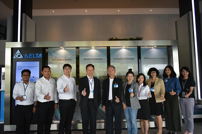กองบรรณาธิการนิตยสาร Green Network ได้รับเกียรติให้เข้าเยี่ยมชมโรงงานของบริษัท เดลต้าฯ