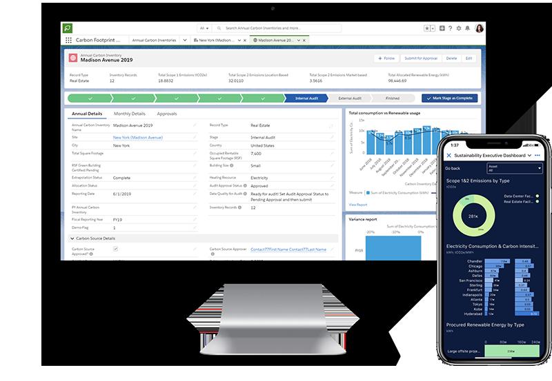 Salesforce Sustainability Cloud โซลูชั่นที่จะช่วยให้ธุรกิจในประเทศไทยสามารถตรวจสอบปริมาณก๊าซคาร์บอนไดออกไซด์ทีปล่อยสู่อากาศ