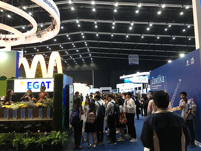 บรรยากาศในงาน Future Energy Asia 2020