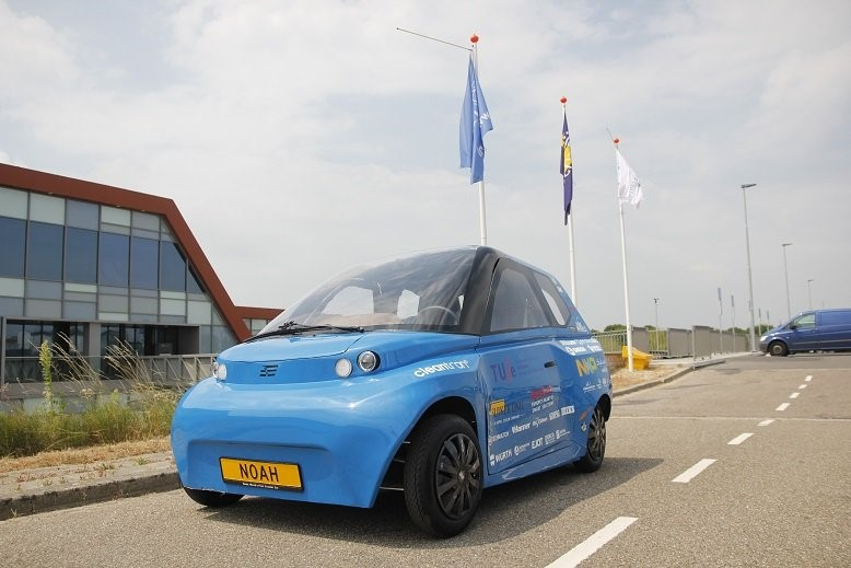 NOAH รถยนต์ต้นแบบรุ่นที่ 2 โดยกลุ่มนักศึกษา TU/Ecomotive จากมหาวิทยาลัยเทคโนโลยี Eindhoven ประเทศเนเธอแลนด์