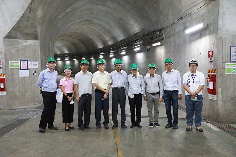 การผลิตไฟฟ้าด้วยพลังน้ำ ณ โรงไฟฟ้าลำตะคองชลภาวัฒนา