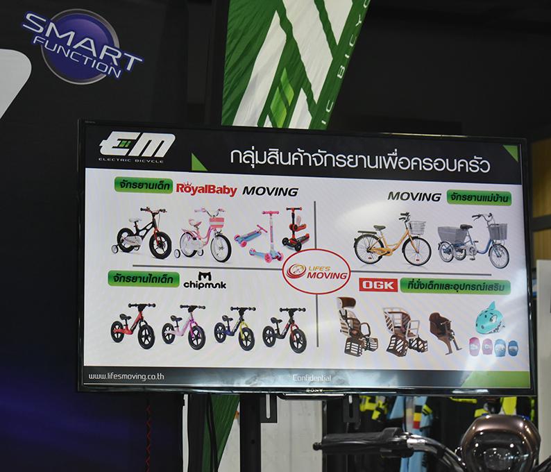 จักรยานไฟฟ้า EM
