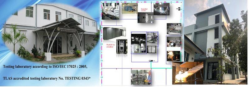 ห้องปฏิบัติการมาตรฐานอุปกรณ์ระบบเซลล์แสงอาทิตย์ของประเทศไทย