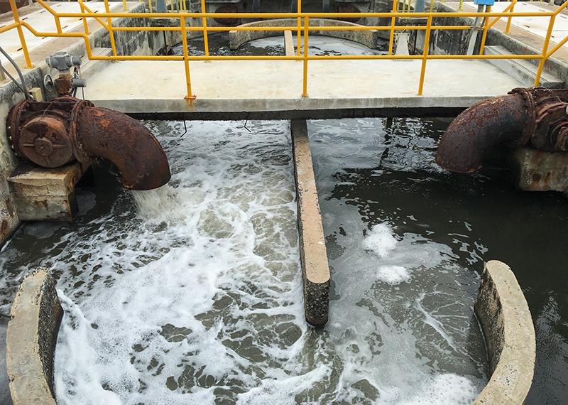 การบำบัดน้ำเสียจากโรงงานอุตสาหกรรม
