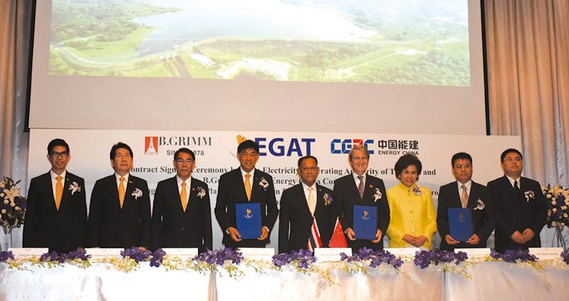 กฟผ. ผนึกกำลังกับ บริษัท บี.กริม เพาเวอร์ จำกัด (มหาชน) และพันธมิตรจีน ร่วมมือพัฒนาโครงการพลังงานแสงอาทิตย์ทุ่นลอยน้ำ แบบไฮบริดที่ใหญ่ที่สุดในโลก