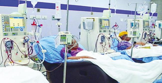 การรักษาผู้ป่วยโรคไตด้วยการฟอกไต