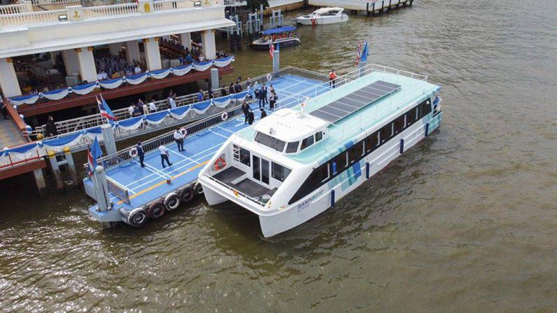 เรือท่องเที่ยวไฟฟ้า 'บ้านปูเน็กซ์ อีเฟอร์รี่' (BanpuNext e-Ferry)