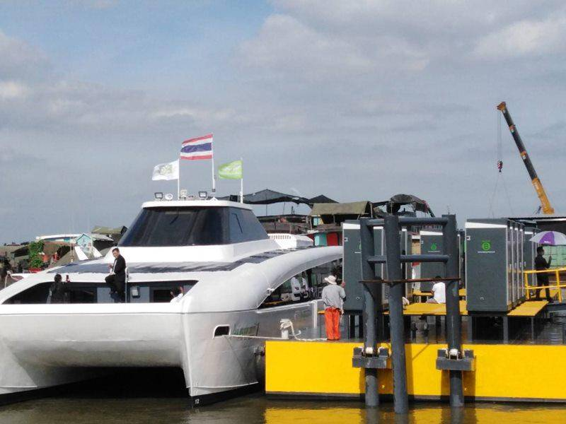 เรือไฟฟ้า MINE Smart Ferry