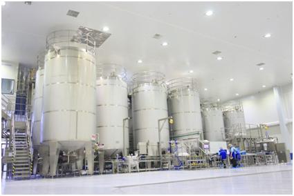 โรงงานผลิตเครื่องดื่มของซันโทรี่ เป๊ปซี่โค