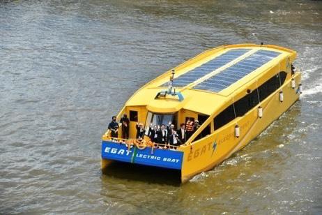 เรือไฟฟ้า (EGAT Electric Boat)