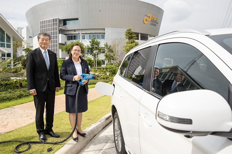 การไฟฟ้าฝ่ายผลิตแห่งประเทศไทย (กฟผ.) เดินหน้าส่งเสริมนวัตกรรมพลังงานรูปแบบใหม่ สนับสนุนการใช้ยานยนต์ไฟฟ้าในประเทศไทย
