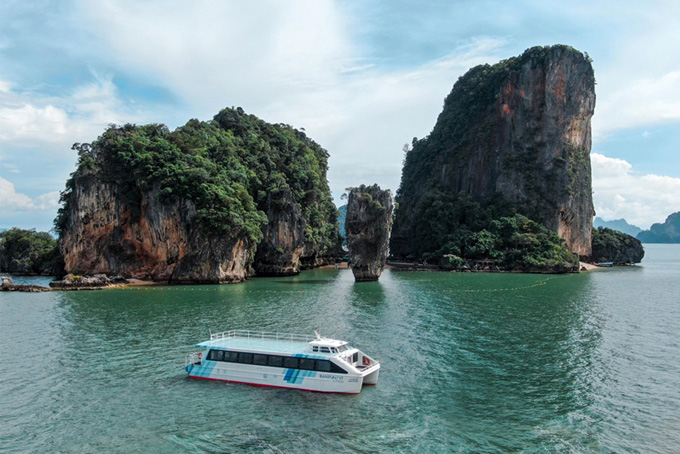 บ้านปู เน็กซ์ อีเฟอร์รี่ลำแรกของไทย