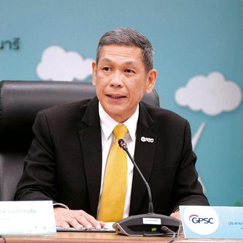 ชวลิต ทิพพาวนิช ประธานเจ้าหน้าที่บริหารและกรรมการผู้จัดการใหญ่ GPSC