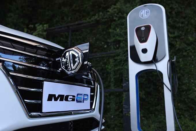 รถยนต์ NEW MG EP ขับเคลื่อนด้วยพลังงานไฟฟ้า 100%