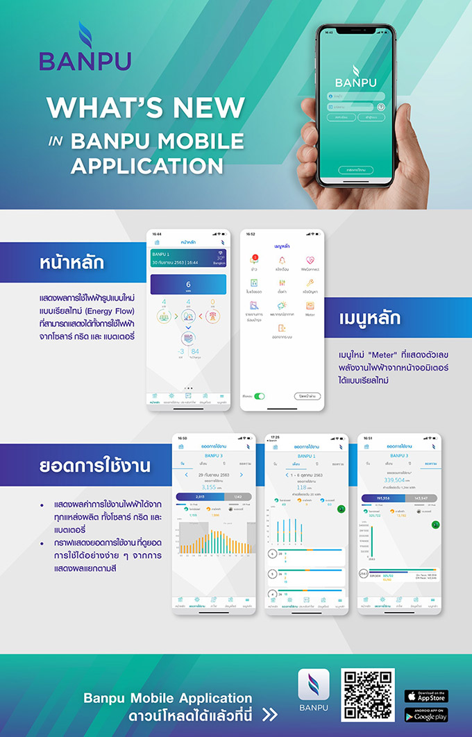 Banpu Mobile Application
