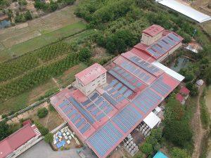 ระบบผลิตไฟฟ้าพลังงานแสงอาทิตย์บนหลังคา